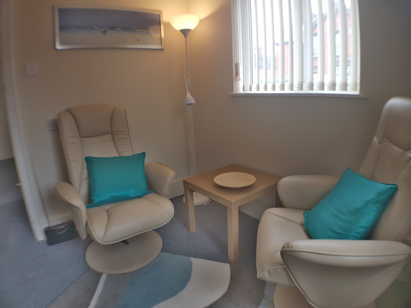 Cape Counselling therapy room